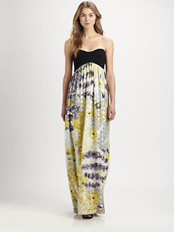Diane von Furstenberg - Asti Silk Maxi Dress