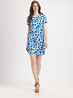 Diane von Furstenberg - Beth Silk Jersey Dress