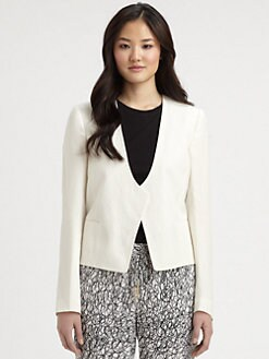 Diane von Furstenberg - Feriha Stretch-Linen Blazer