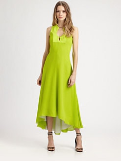 Diane von Furstenberg - Starr Silk Chiffon Gown