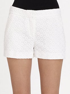 Diane von Furstenberg - Fabiola Eyelet Shorts