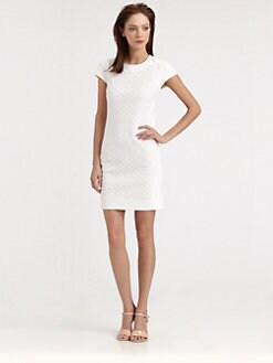 Diane von Furstenberg - Pele Eyelet Sheath Dress