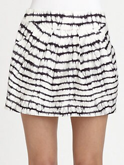 Diane von Furstenberg - Jan Cotton Poplin Skirt