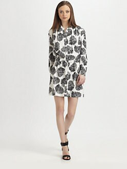 Diane von Furstenberg - Deandra Silk Shirtdress