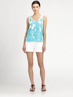 Diane von Furstenberg - Ryan Printed Silk Top