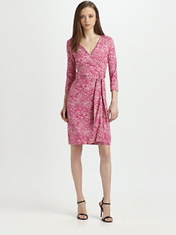 Diane von Furstenberg - New Julian Two Silk Jersey Wrap Dress