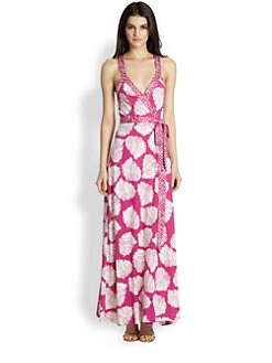Diane von Furstenberg - Samson Silk Jersey Maxi Dress
