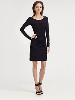 Diane von Furstenberg - Lerosa Ruched Knit Dress