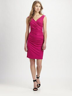 Diane von Furstenberg - Bentley Ruched Jersey Dress