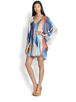 Diane von Furstenberg - Fleurette Silk Dress