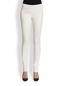 Diane von Furstenberg - Kristen Basic Leather Leggings