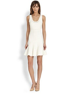 Diane von Furstenberg - Perry Fit-And-Flare Knit Dress