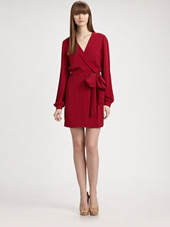 Diane von Furstenberg - Milicent Silk Wrap Dress