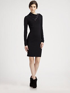 Diane von Furstenberg - Convertible Turtleneck Dress