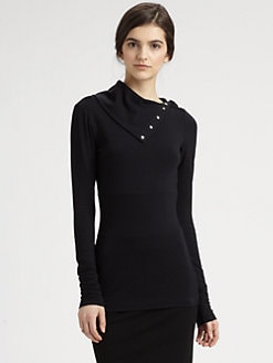Diane von Furstenberg - Convertible Turtleneck Top