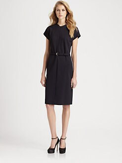 Diane von Furstenberg - Maizah Zip-Front Knit Dress