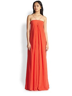 Diane von Furstenberg - Annie Silk Maxi Dress