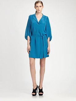 Diane von Furstenberg - Bairly Louche Silk Dress