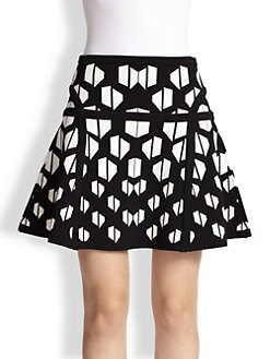 Diane von Furstenberg - Flote Fit-&-Flare Skirt
