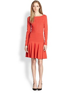 Diane von Furstenberg - Delta Jersey Drop-Waist Dress