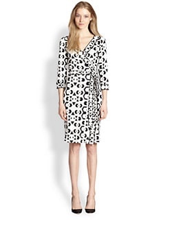 Diane von Furstenberg - Banded Julian Silk Jersey Dress