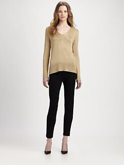 Diane von Furstenberg - Didi Metallic Sweater