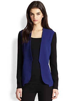 Diane von Furstenberg - Paulette Colorblock Jacket