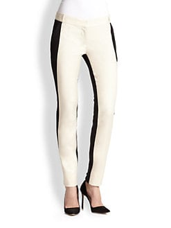 Diane von Furstenberg - Willow Stretch-Linen Pants