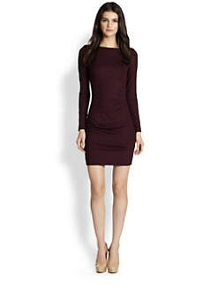 Diane von Furstenberg - Joy Ruched Sheath Dress