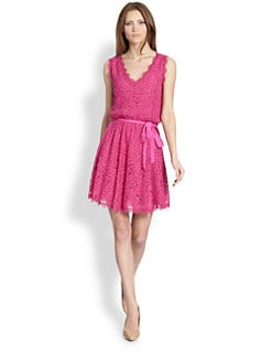 Diane von Furstenberg - Luella Lace Dress