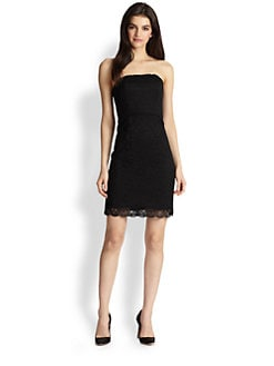 Diane von Furstenberg - Walker Strapless Lace Dress