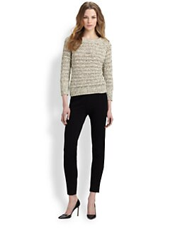 Diane von Furstenberg - Raylee Open-Knit Sweater