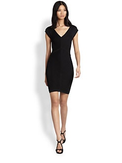 Diane von Furstenberg - Cressida Textured-Knit Jersey Dress