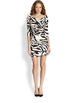 Diane von Furstenberg - Bentley Zebra-Print Dress