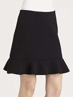 Diane von Furstenberg - Pascale Ruffled Skirt