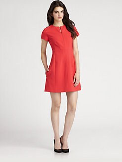 Diane von Furstenberg - Agatha Knit Suiting Dress