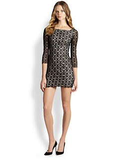 Diane von Furstenberg - Zarah Beaded Lace Dress