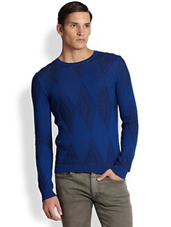 Versace Collection - Textured Knit Sweater