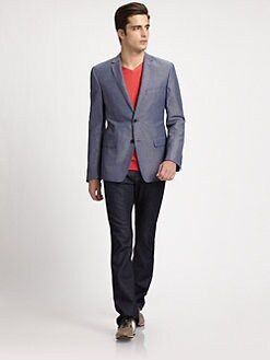 Versace Collection - Metallic Blazer