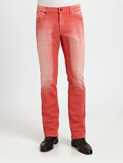 Versace Collection - Saturated Five-Pocket Denim Jeans