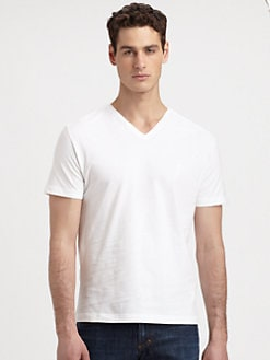 Versace Collection - Cotton V-Neck Tee