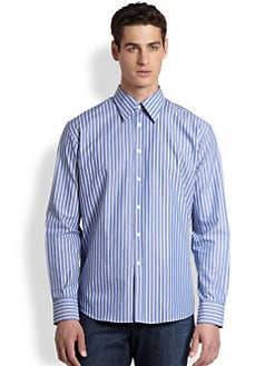 Versace Collection - Trend-Stripe Sportshirt