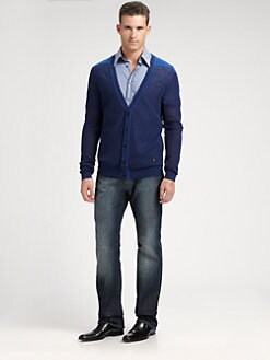 Versace Collection - Cotton Cardigan