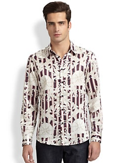 Versace Collection - Printed Sportshirt