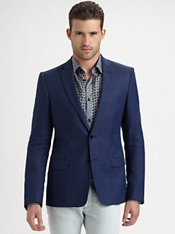 Versace Collection - Cotton/Linen Blazer