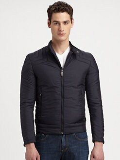 Versace Collection - Nylon Zip-Front Jacket