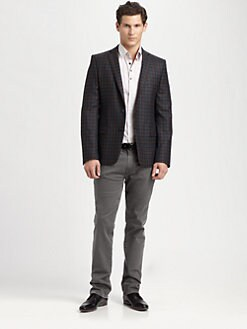 Versace Collection - Plaid Blazer