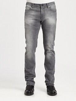 Versace Collection - Brushed Denim Jeans