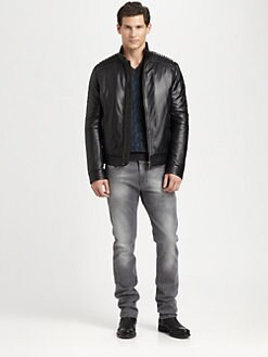 Versace Collection - Leather Jacket