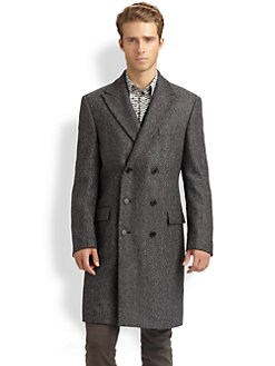 Versace Collection - Wool Top Coat